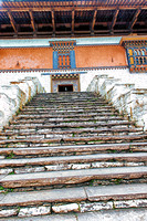 Steps to the Kyerchu Temple