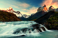Sunrise; Torres del Paine, Chile