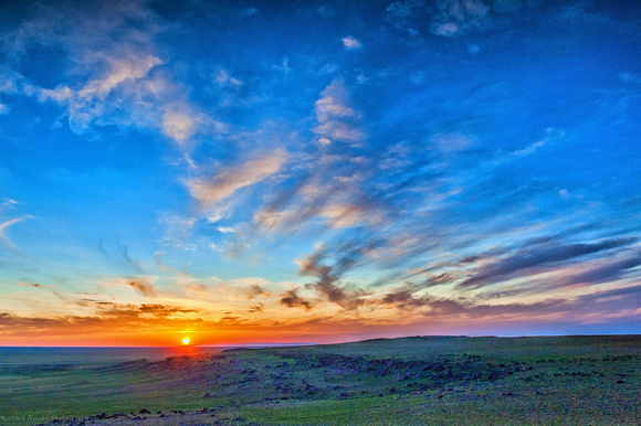 Mongolian Sunset