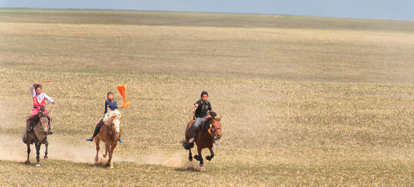 Finish line; Mongolia