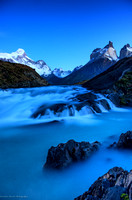 Sunrise in Torres Del Paine, Chile