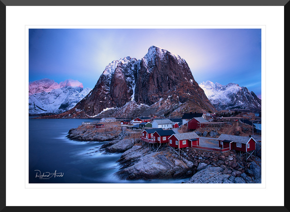 Hamnoy Sunrise Framed